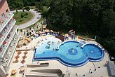 4* Thermal Hotel Visegrad Freibad mit Panoramablick